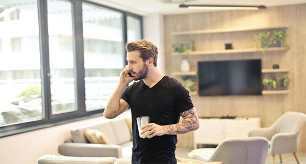 guy calling