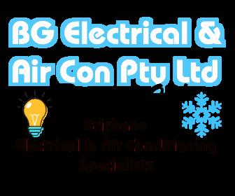 BG Electrical & Air Con Logo